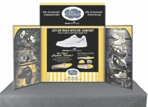 Portable Table Top Display 6' Long and includes art panels Promotional display sold by Ink Splash Promos™, LLC