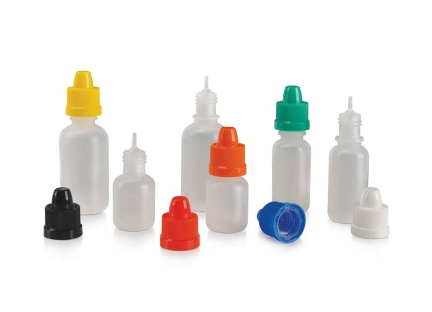E-Liquid Bottles E-liquid bottle sold by Bottle Solutions