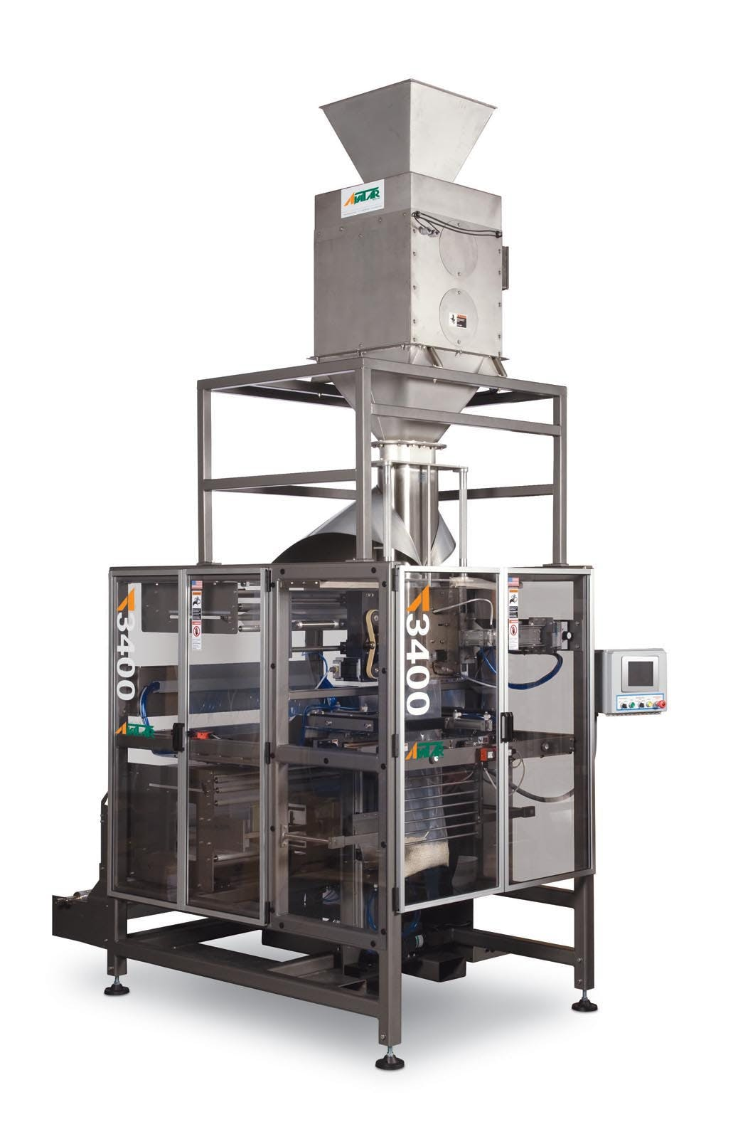 Model A-3400 (V/F/F/S) Form fill seal machine sold by All-Fill