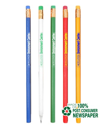 Recycled Pencils (Item # HILPT-IJLLE) Recycled and Eco Friendly Promotional Item sold by InkEasy