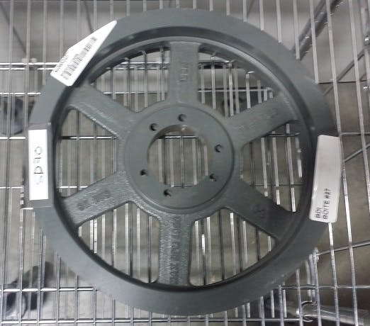HMR 12,4X3B Groove Sheave Pulley (Used) - sold by Aevos Equipment