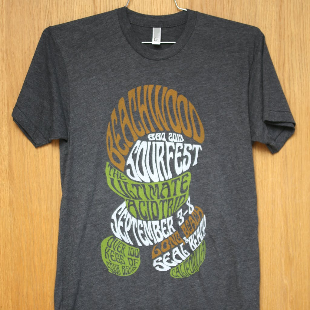 50/50 Tee - Beachwood - sourfest Promotional shirt sold by Brewery Outfitters