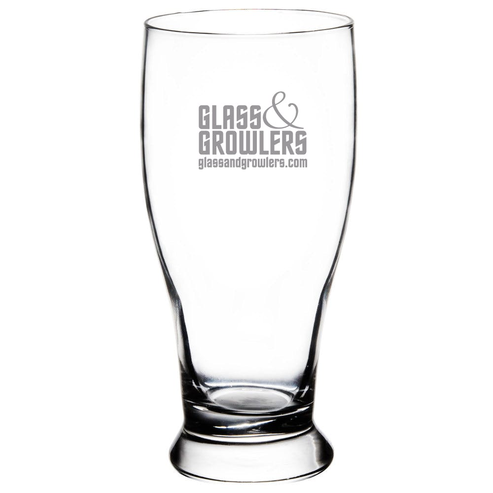 Pub Glass 16 oz Beer glass sold by Glass and Growlers