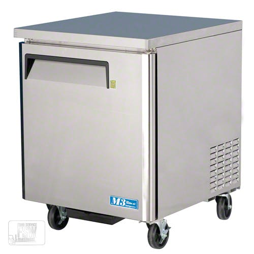 "Turbo Air ( MUF-28 ) - 28"" Undercounter Freezer – M3 Series Commercial freezer sold by Food Service Warehouse"
