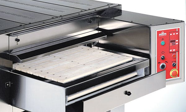Italforni TSB Gas Stone Conveyor Oven Pizza oven sold by pizzaovens.com