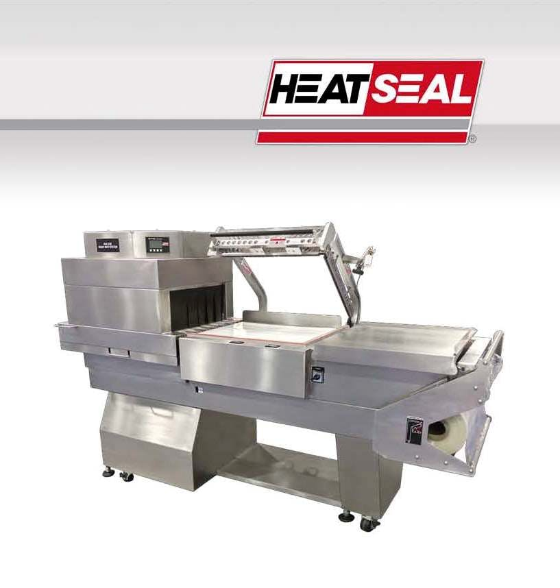 HEAT SEAL HEAVY DUTY COMBO SHRINK SYSTEM MODEL HDX350 Packaging equipment sold by New Century Packaging LLC