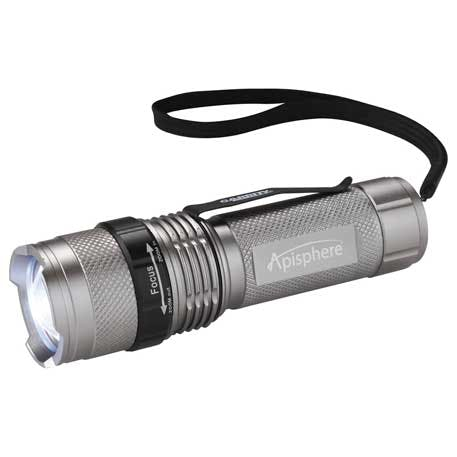 Mini Tactical Dual Output Flashlight - 1225-00 - Leeds Promotional flashlight sold by Distrimatics, USA