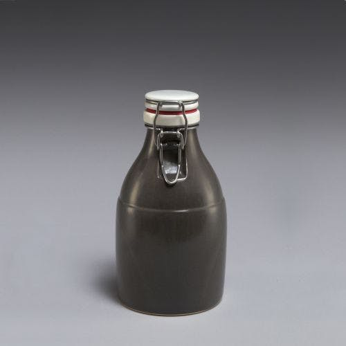 The Growlette - Satin Grey 32oz Growler sold by Portland Growler Company