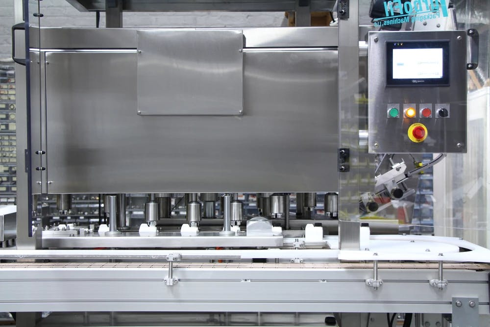 Hybrid Capper - Bottle capper sold by TurboFil Packaging Machines