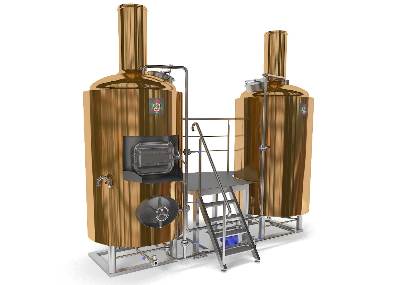 "Brewery «Schulz-500"" Brewhouse sold by HEINRICH SCHULZ"