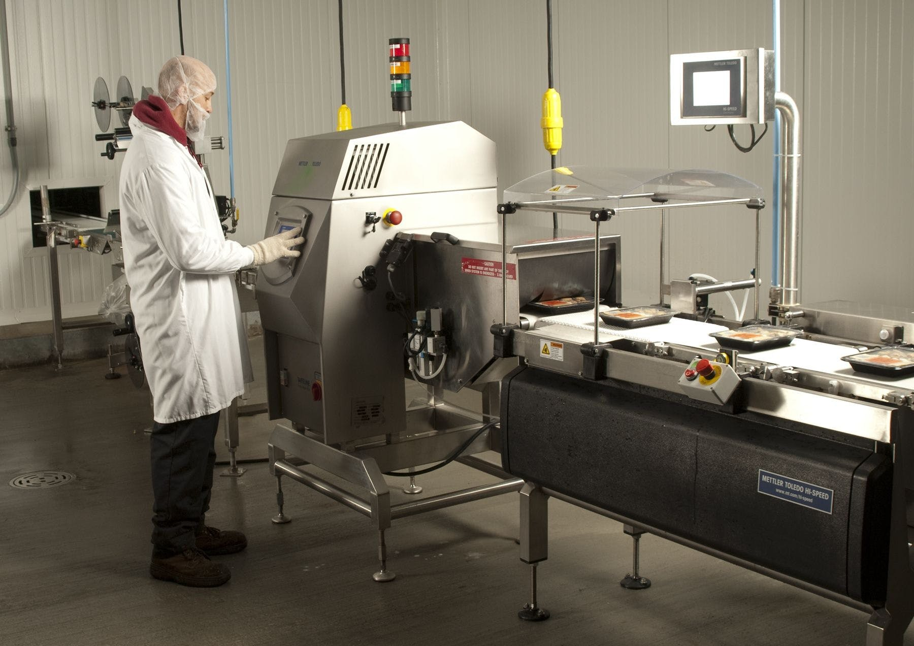 Safeline Xray with Hi Speed Checkweigher X-ray machine sold by Southwest Packaging Equipment