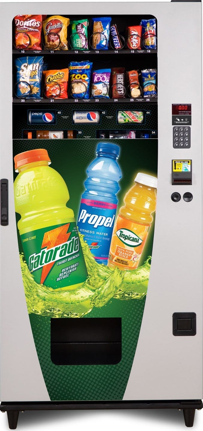 Vending Machines Vending machine sold by Universal Vending Consultants