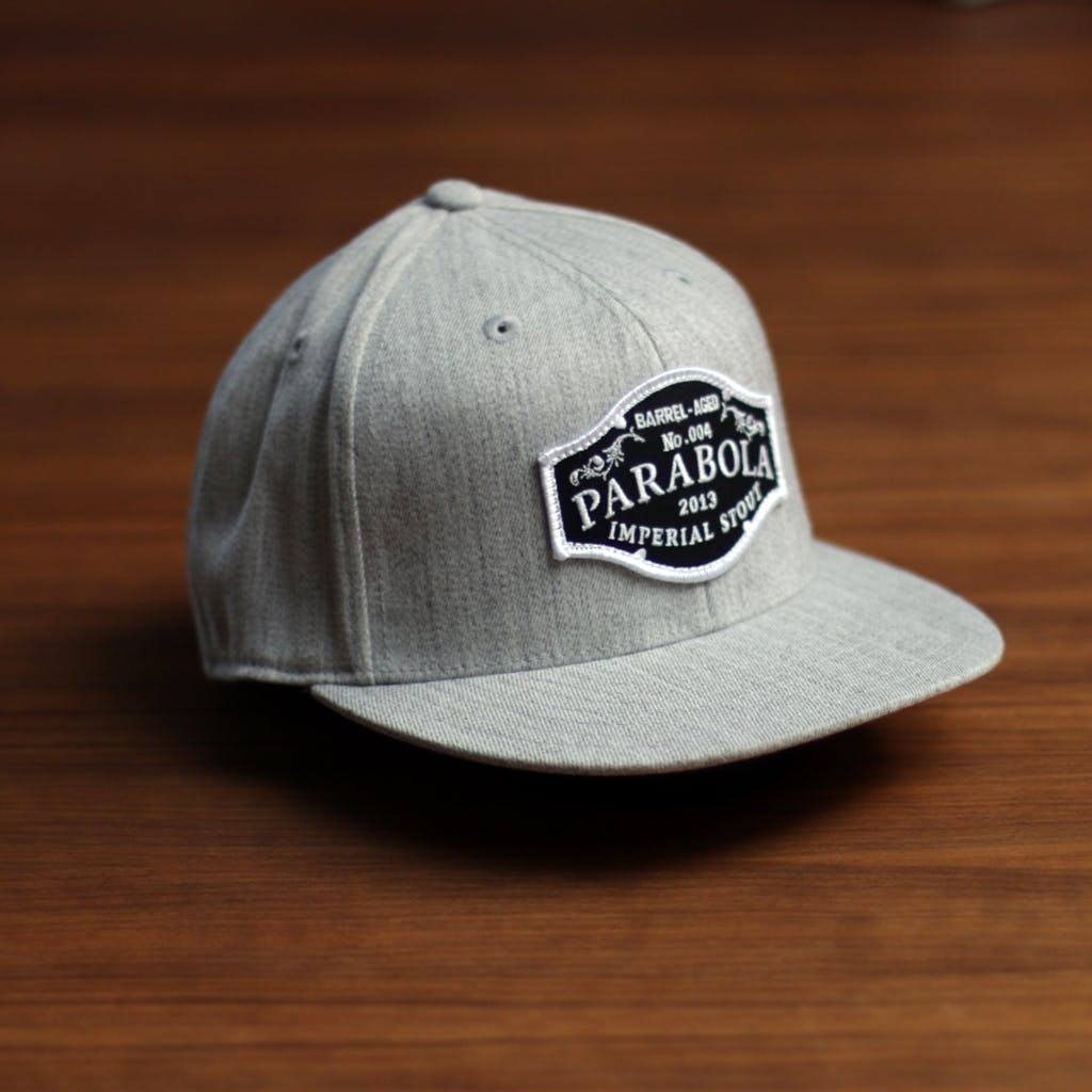 FlexFit flatbill (patch) Promotional cap sold by Brewery Outfitters
