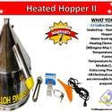 Heated Hopper II / Fits all Jet- Models Only - Hopper sold by Pro Fill Equipment