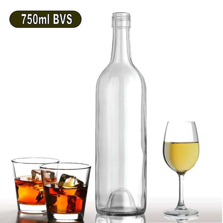 750ml W65F-BVS Bordeaux Wine Bottle Wine bottle sold by Wholesale Bottles USA