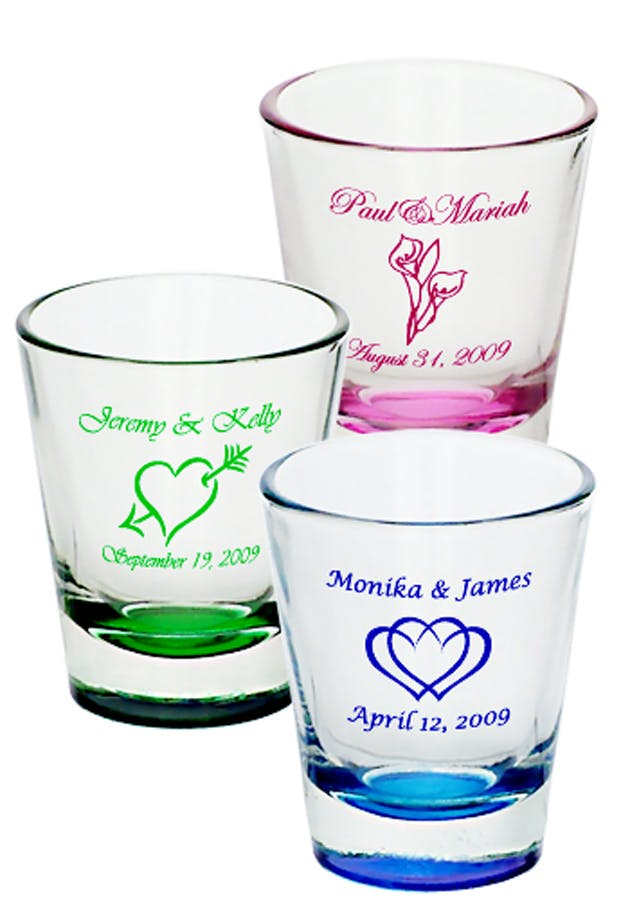 1.75 Oz. Custom Shot Glass (Item # LGGQQ-HMTXT) Shot glass sold by InkEasy