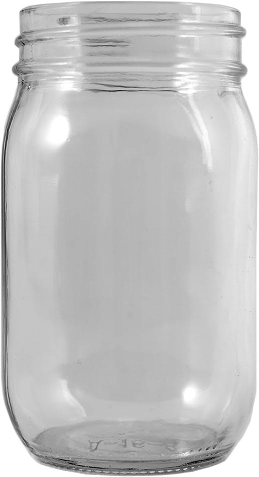 G16-70-450ECO01-2 16oz 70-450 jar Glass Jar sold by Packaging Support Group
