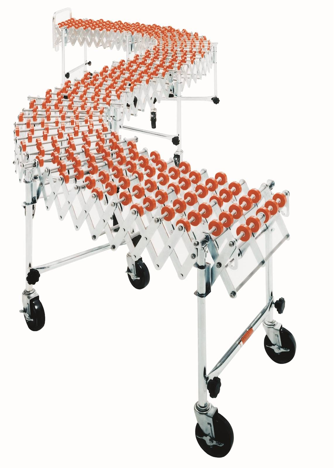 HEAVY DUTY ACCORDIAN WHEEL CONVEYOR H424-60P Conveyor sold by Janeice Products Co Inc.