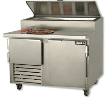 "Leader PT48 - Pizza Prep Table 48"" Food prep table sold by Elite Restaurant Equipment"