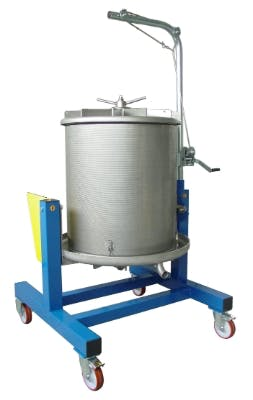 ENOTECNICA PILLAN VITTORIA Fruit presses Fruit press sold by Prospero Equipment Corp.