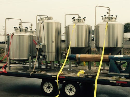 Direct Fire Brewhouse Brewhouse sold by Pioneer Tank and Vessel
