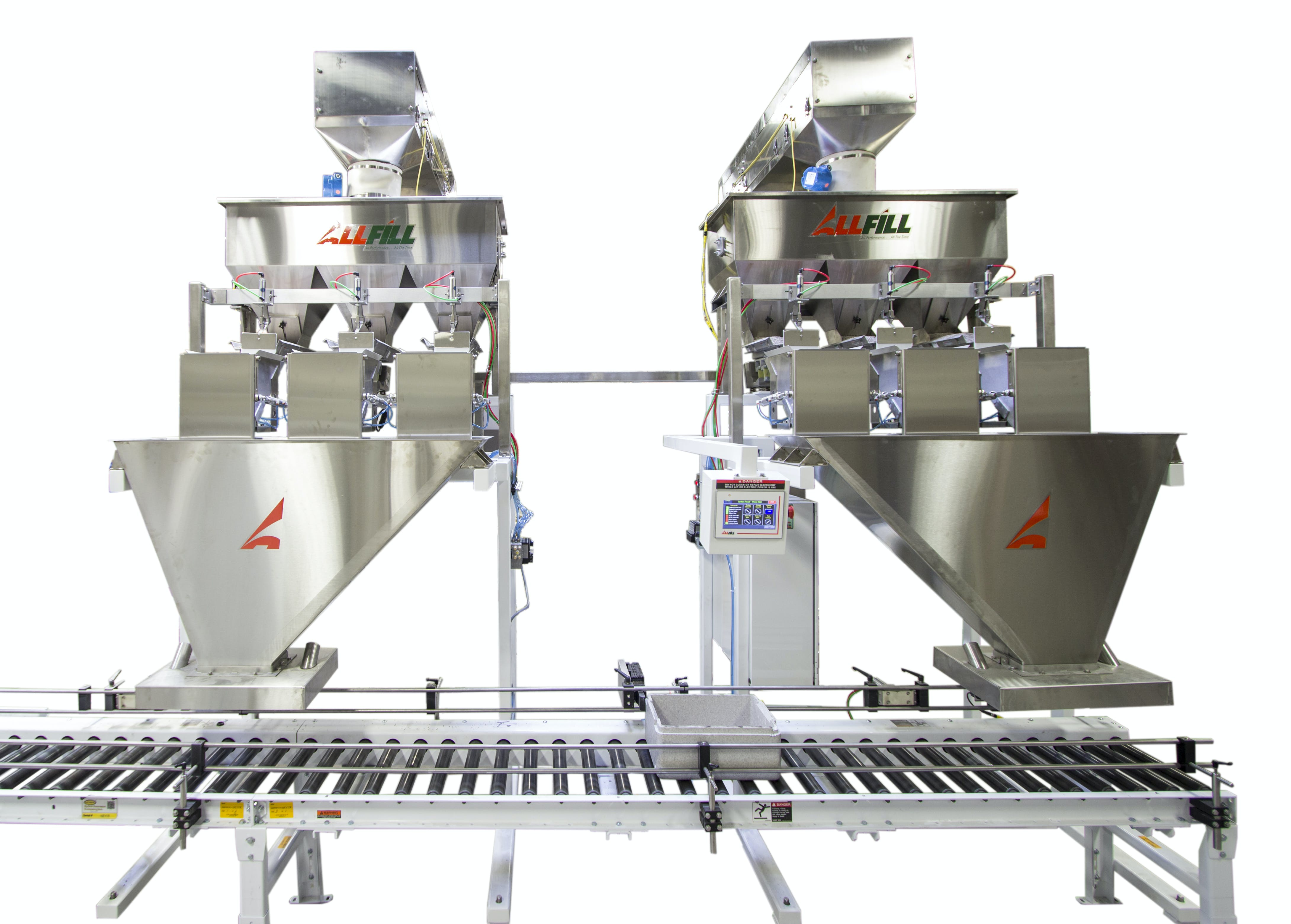 VF-HDX Series Net weight filler sold by All-Fill