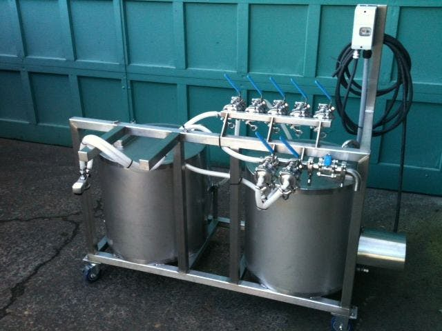Manual keg washer - sold by Ager Tank & Equipment Co.
