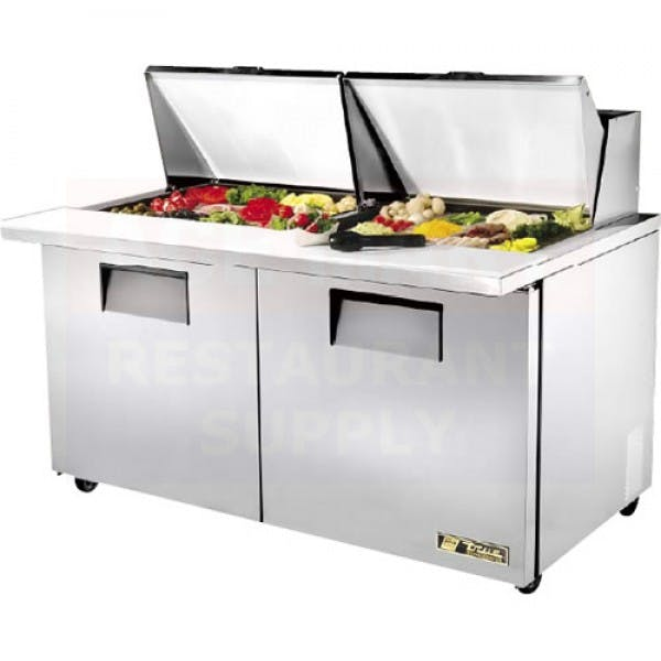 "Mega Top 60"" Stainless Sandwich Prep Table"