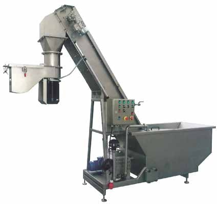 Kreuzmayr Washing-Elevator KWEM 1000 Fruit washers Fruit washer sold by Prospero Equipment Corp.
