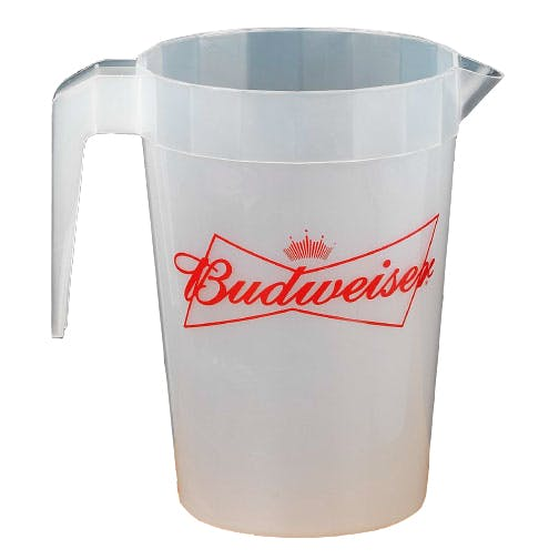 64 Oz. Plastic Pitcher (Item # KFGNO-JFFHH) Beer pitcher sold by InkEasy