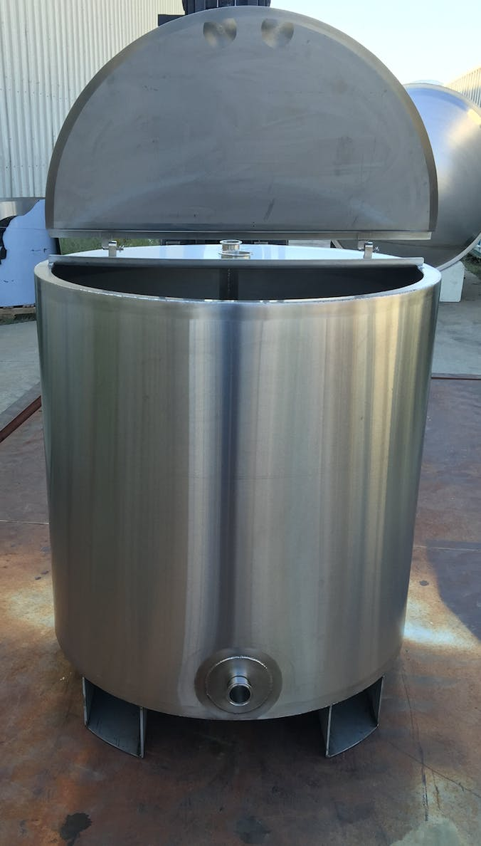 CIP Tank Brewhouse sold by Rad Rails Stainless