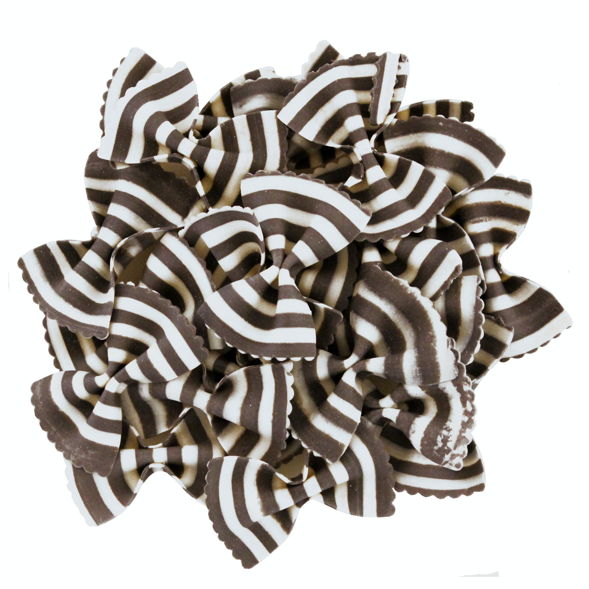 """Zebra Bowties """"Farfalle Magia Bianca"""" Colored Pasta Pasta sold by M5 Corporation"""