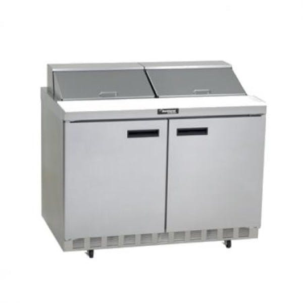 Sandwich/Salad Top Refrigerator Prep Table - V-DEF4448N-12