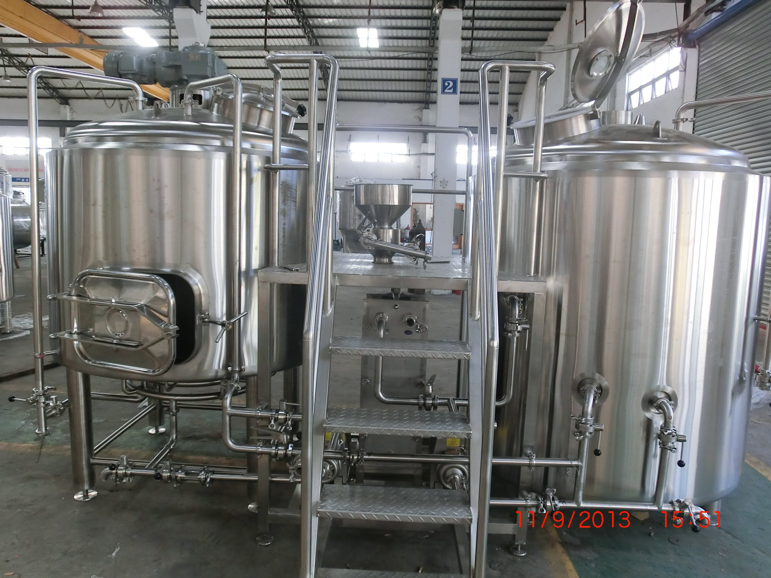 7bbl 2 vessel brewhouse Brewhouse sold by Best Buy Brewing Equipment LLC