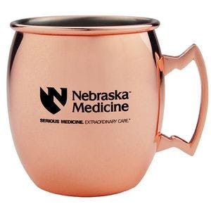17 oz. Copper Coated Stainless Steel Moscow Mule Mug Copper mug sold by Custom H2Oh!