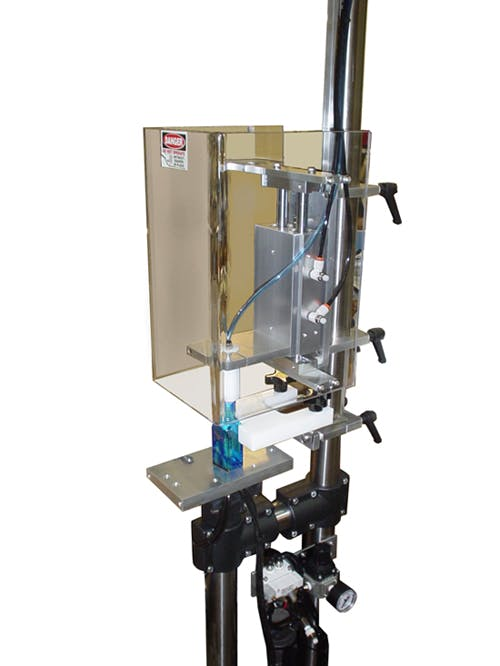 Semi-Automatic Bench Top Plugger / Corker - Semi-Automatic Capping Machine - sold by Inline Filling Systems
