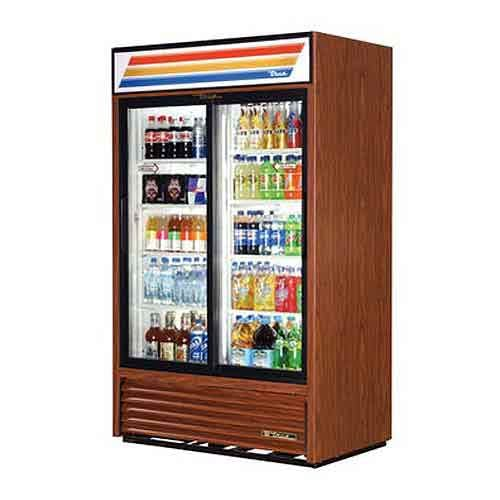 "True - GDM-41 47"" Slide Glass Door Merchandiser Refrigerator Commercial refrigerator sold by Food Service Warehouse"