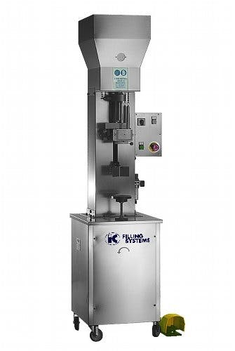 Corking machine - Semi Auto ROPP Capping Machines - sold by IC Filling Systems