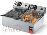 Vollrath - 40708 - Cayenne 20lb. Dual Tank Counter Top Fryer Commercial fryer sold by Prima Supply