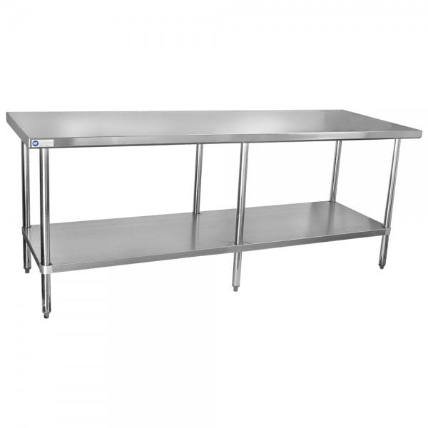 "30"" x 84"" Stainless Work Table"