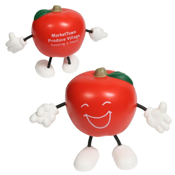 Ariel :: Apple Figure - LCH-AP02 Stress reliever sold by Distrimatics, USA