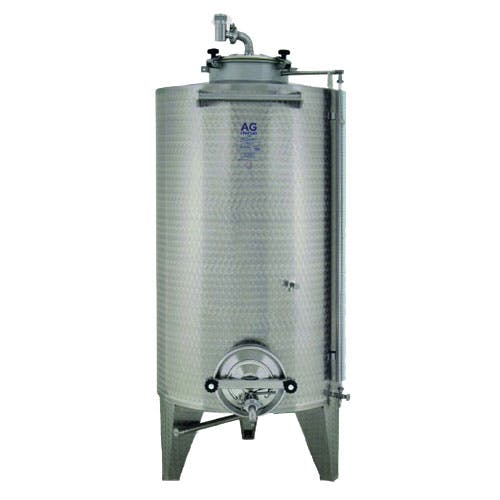 Custom Closed Top Conical Bottom Wine Tanks Wine tank sold by The Vintner Vault