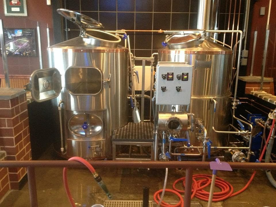 3.5 bbl brewhouse Brewhouse sold by Ager Tank & Equipment Co.