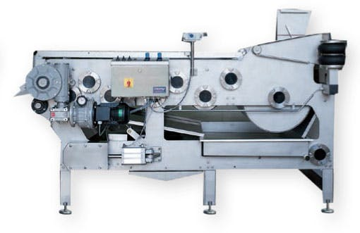 Kreuzmayr Belt Press KEB 1250 Fruit press sold by Juicing Systems