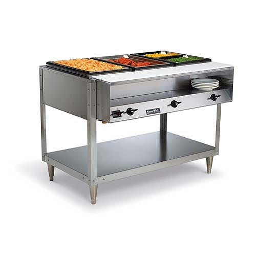 Vollrath (38003) - Servewell 3-Well Hot Food Table - 1440 Watts Steam table sold by Food Service Warehouse