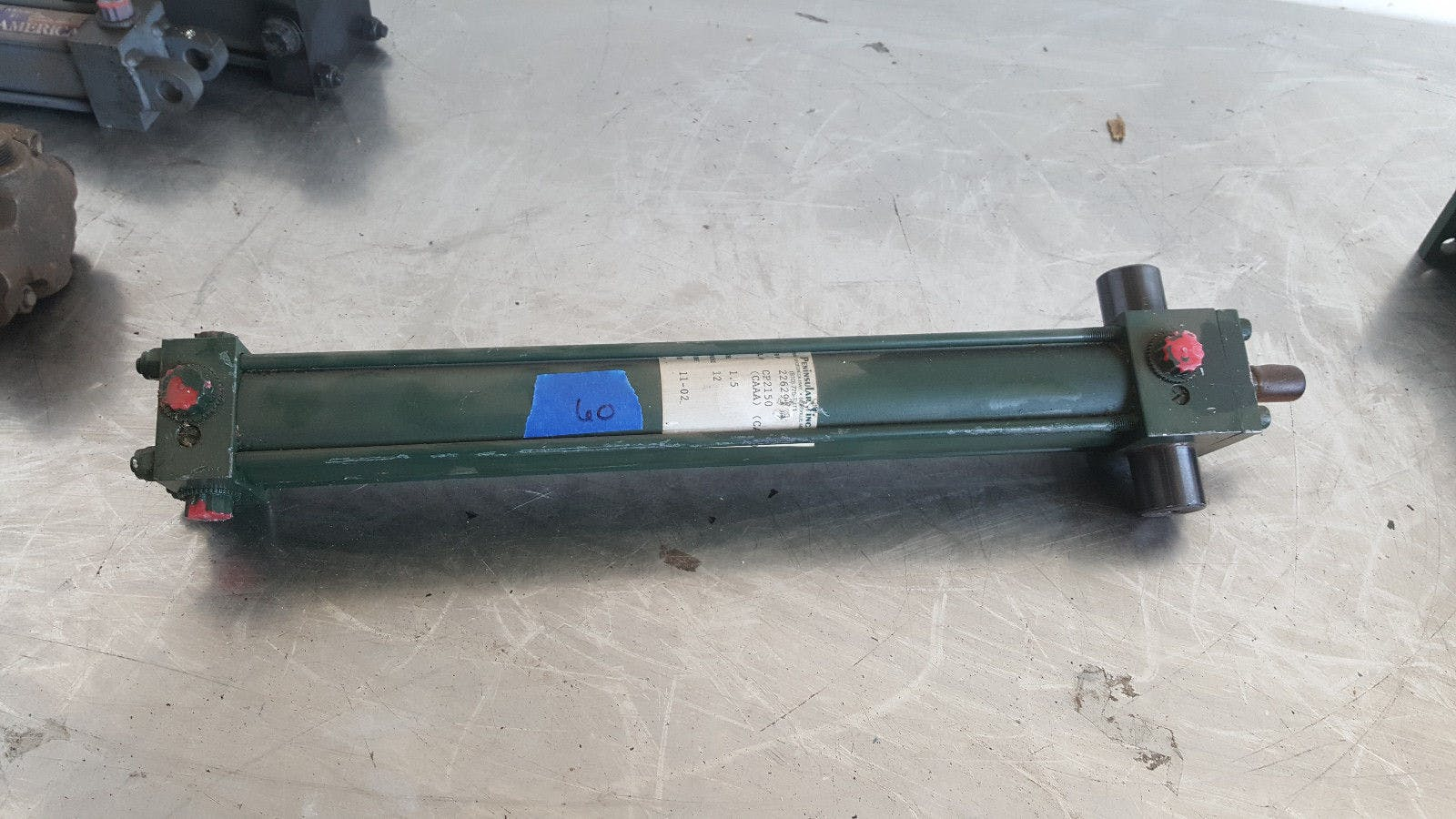 Peninsular 01.50 CP2150 12.000 250 Psi Air Pneumatic Cylinder New