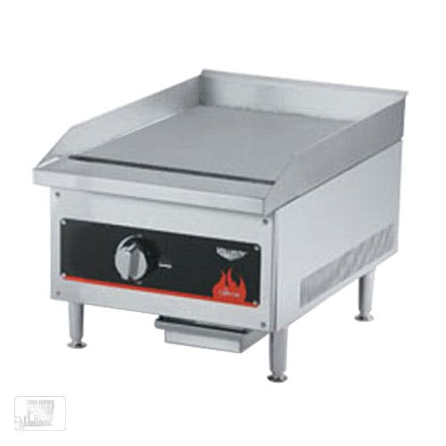 "Vollrath (40718) - 12"" Gas Flat Top Griddle - Cayenne Series Griddle sold by Food Service Warehouse"