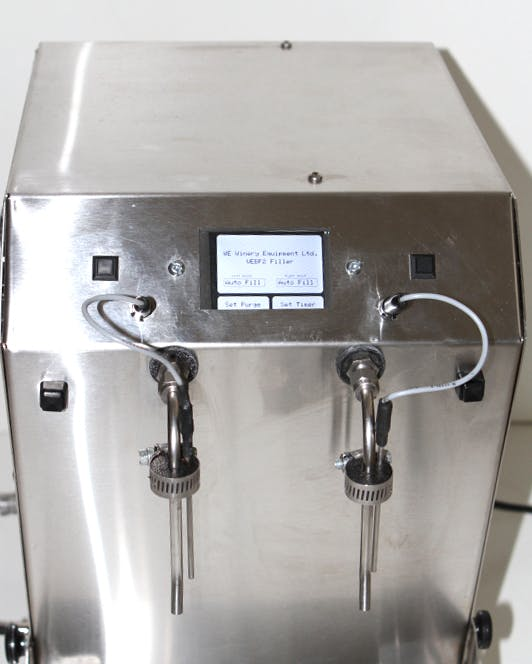 WEBF2 Filler With Gas Purge option Bottle filler sold by WE Winery Equipment Ltd.
