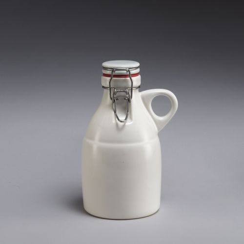 Grigri Growlette - Gloss White 32oz Growler sold by Portland Growler Company