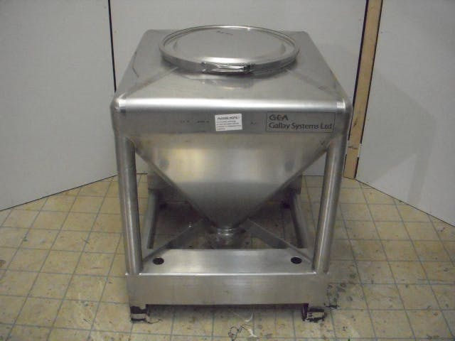 GEA G17CO-AC4-001 Tank Tote - 140 liters (37 gallons) - sold by Aevos Equipment